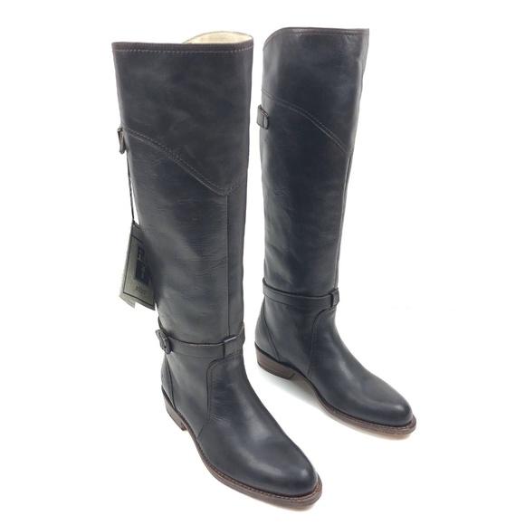 f8f2c9243b3 Frye Dorado Riding Boot Women Size 6 Dark Brown NWT